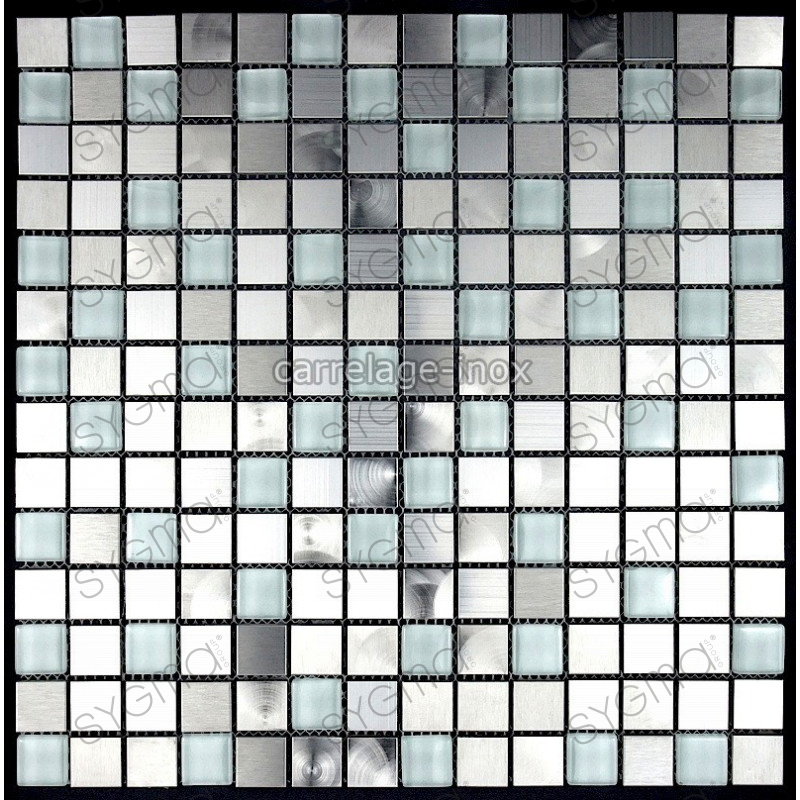 mosaique et carrelage inox 1m2 multi inox regular. Black Bedroom Furniture Sets. Home Design Ideas
