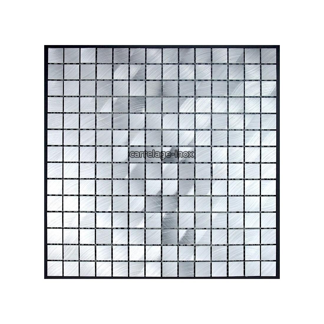Mosaique et carrelage aluminium alu 20 - Credence cuisine alu ou inox ...