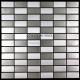 Mosaique et carrelage inox 1 m2 DAMIER BRIQUE