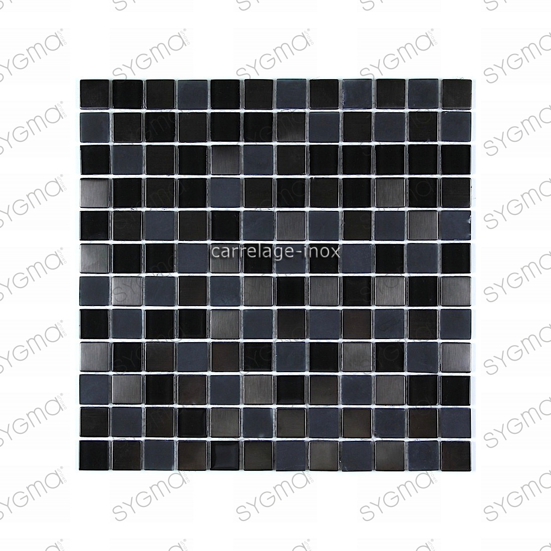 Carrelage mosaique noir maison design for Carrelage mosaique