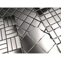echantillon mosaique inox ou aluminium carrelage.