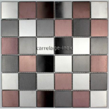 dalle mosaique inox douche mosaique salle de bain prim a carrelage. Black Bedroom Furniture Sets. Home Design Ideas