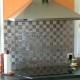 mosaique inox, carrelage inox, faience 1 m2 Duplica 48