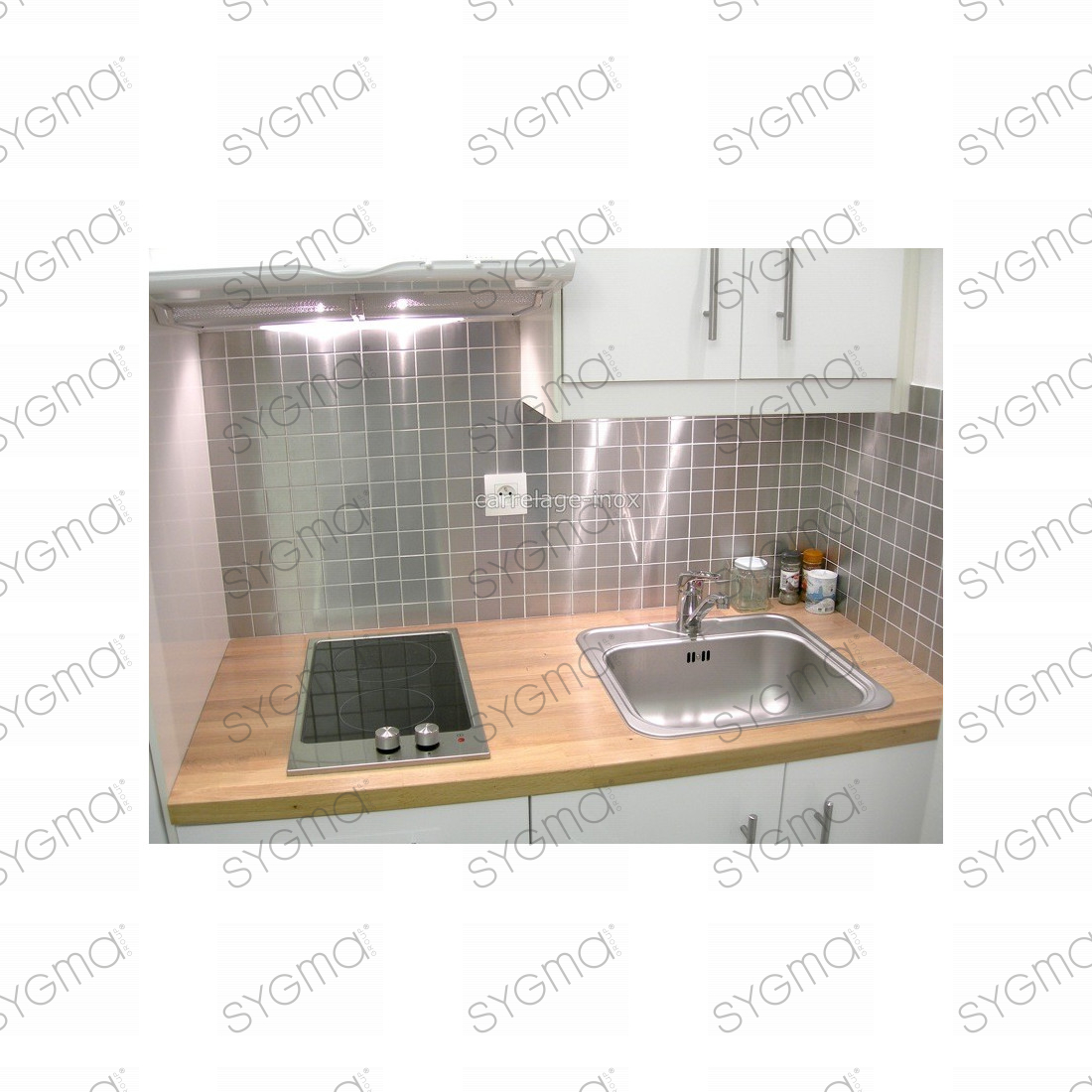 Mosaique inox modele regular 30 carrelage - Modele carrelage ...