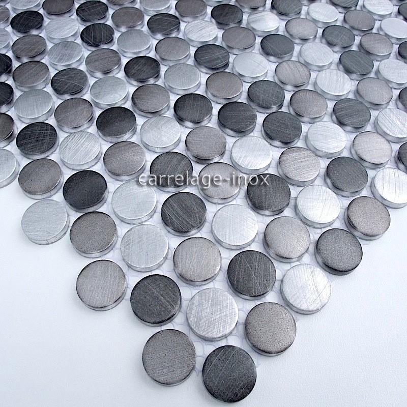 Mosaique et carrelage aluminium alu 40 for Carrelage mosaique