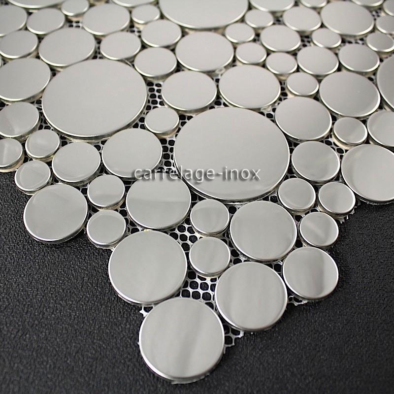 Mosaique argent salle de bain great inde delhi marron for Carrelage metro argent