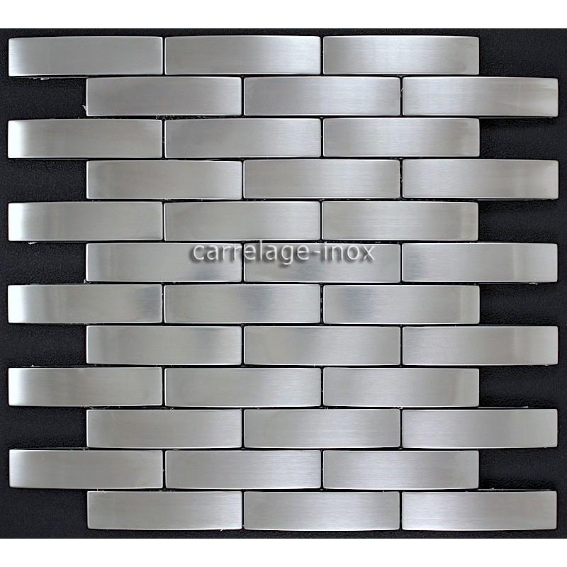Carrelage Et Faiences Mosaique : Mosaique inox carrelage faience cuisine factory