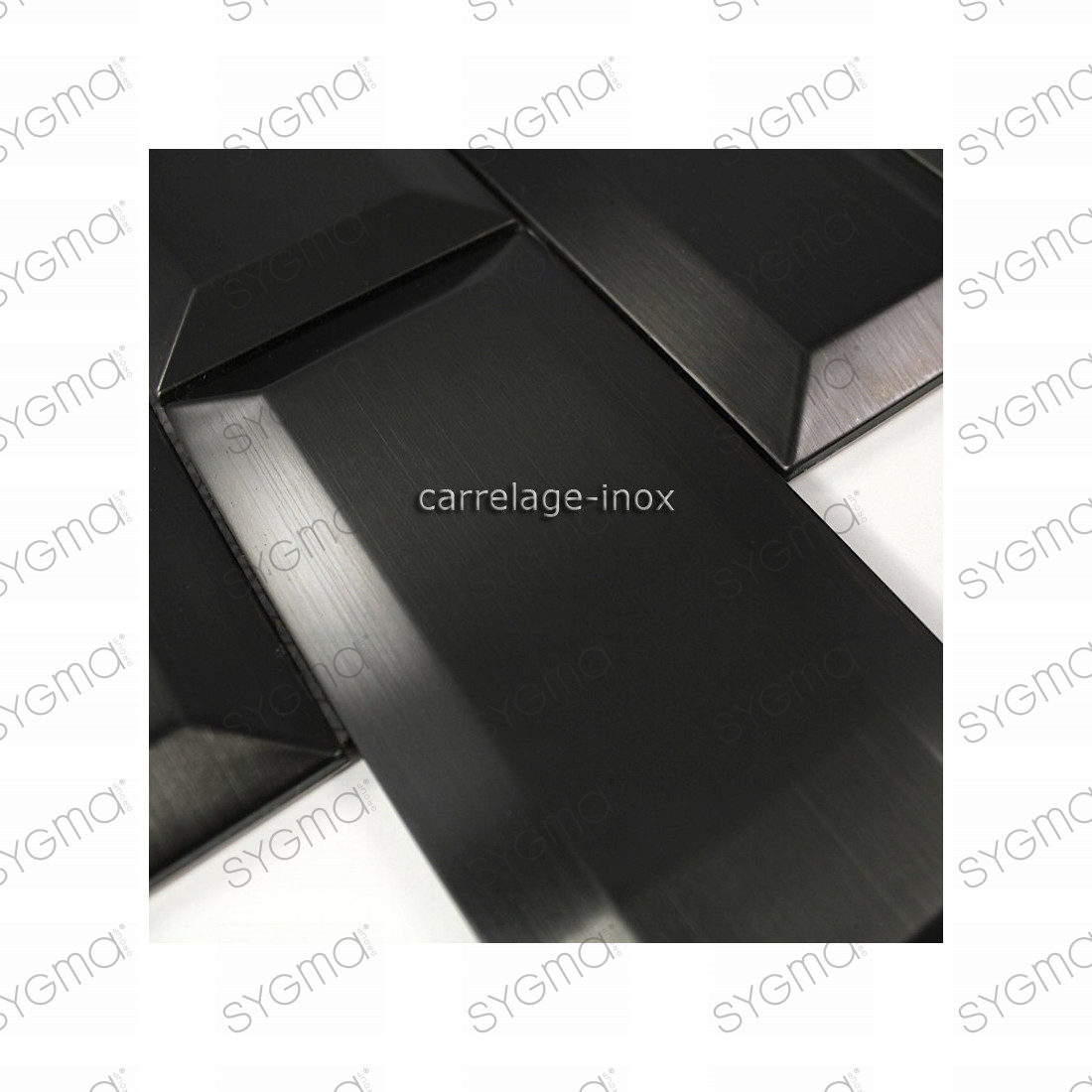 carrelage inox mosaique cuisine metro noir carrelage. Black Bedroom Furniture Sets. Home Design Ideas