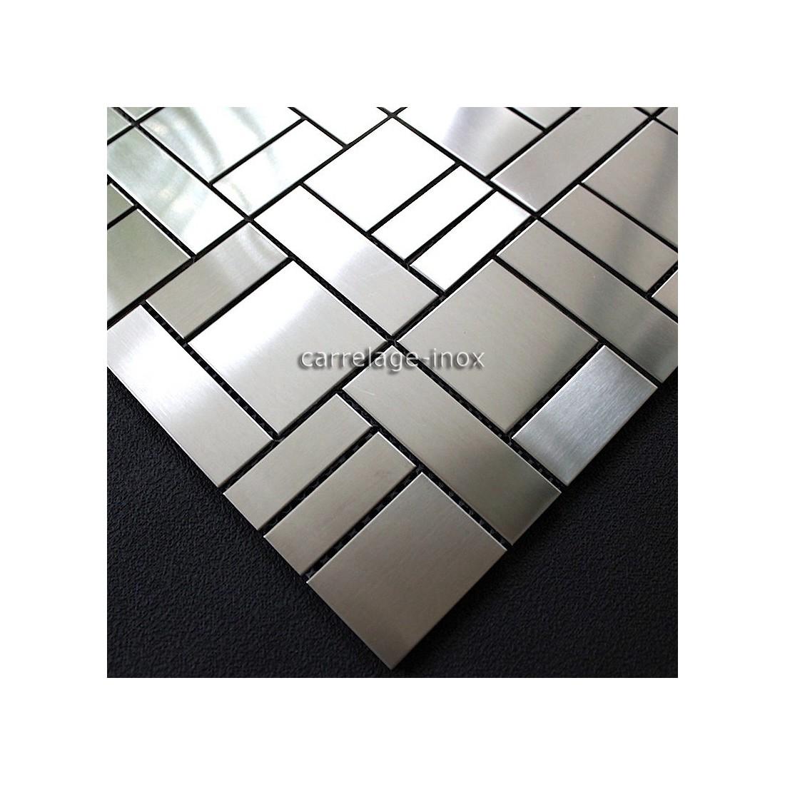 Carrelage inox mosaique modele erato carrelage for Model de carrelage