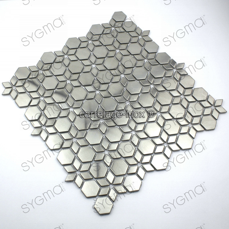 Mosaique et carrelage inox faience cuisine loop for Carrelage mosaique