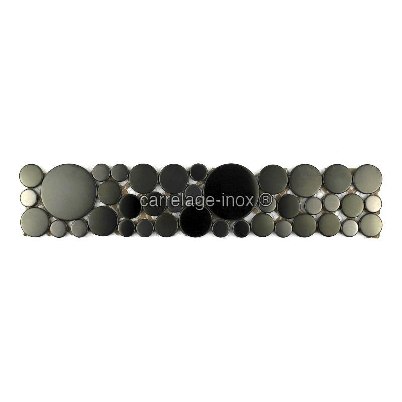Listel inox mosaique carrelage frise acier metal laska for Mosaica carrelage