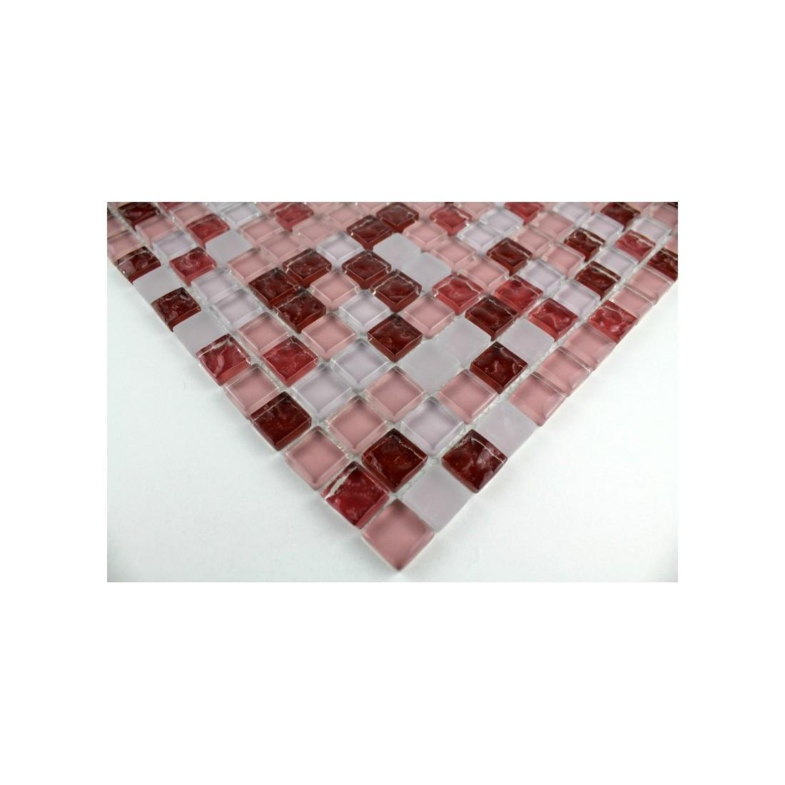 Salle de bain mosaique rouge avec Haute Définition Fonds d'écran ...