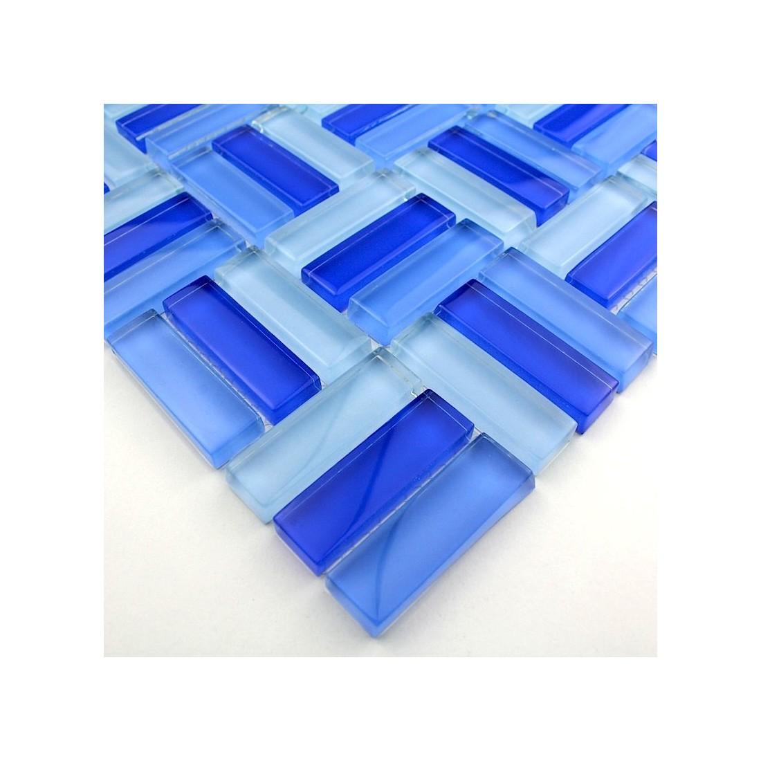Salle de bain mosaique bleu avec haute qualité photos ~ goohey.com
