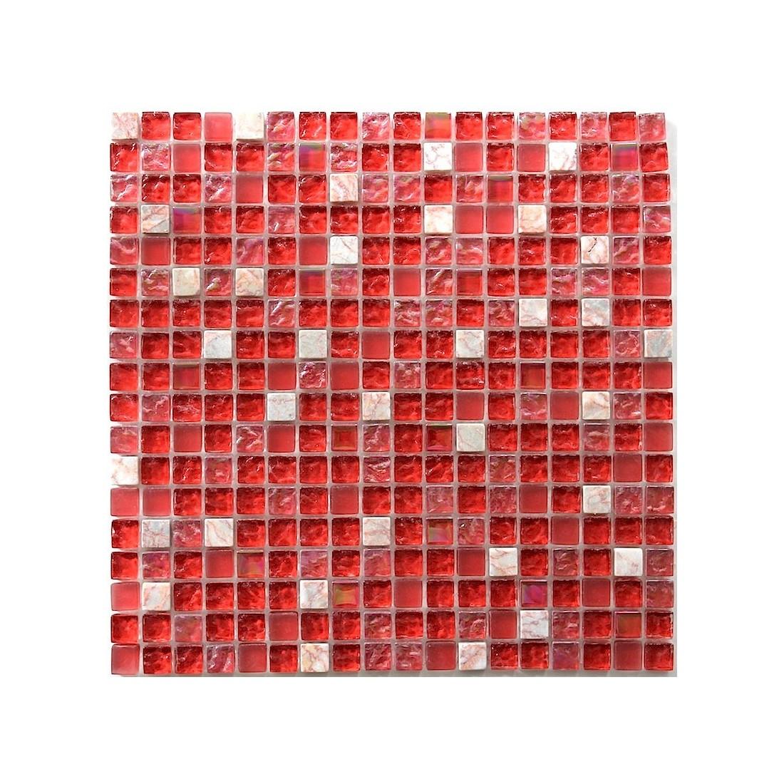 carrelage mosaique rouge. Black Bedroom Furniture Sets. Home Design Ideas