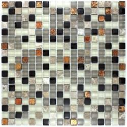Mosaique et carrelage inox brosse rectangular 98 for Lagouge carrelage