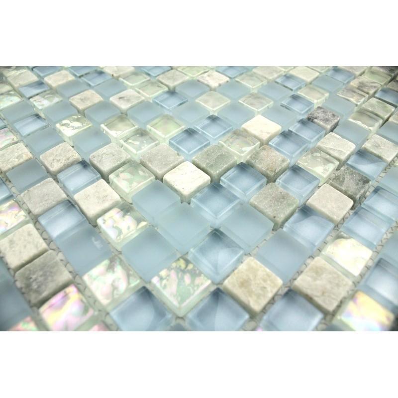 Carrelage mosaique pierre salle de bain salle de bains - Refaire sa salle de bain soi meme ...