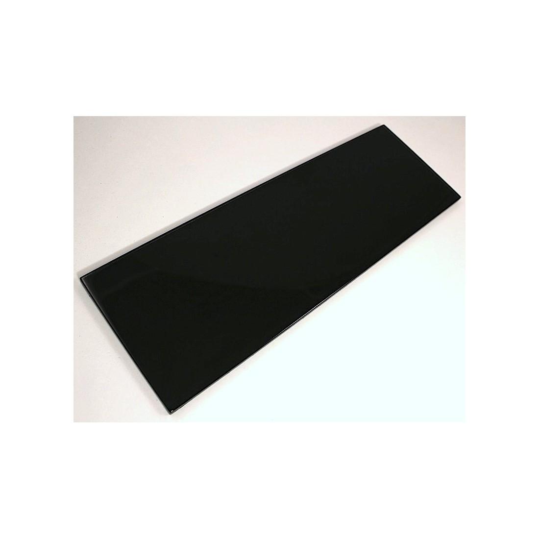 carreau verre cr dence cuisine fond de hotte cuisine longo noir carrelage. Black Bedroom Furniture Sets. Home Design Ideas