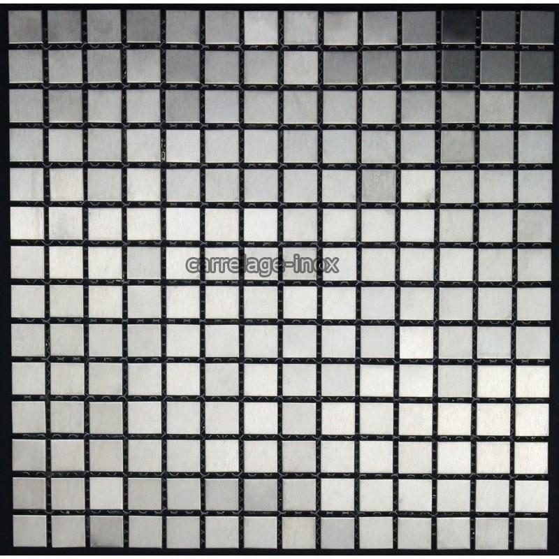 Mosaique et carrelage inox 1m2 regular 20 for Carrelage mosaique