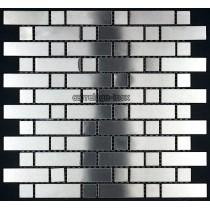 Mosaique inox, carrelage inox faience credence MIXTE 64