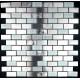 Mosaique et carrelage inox 1 m2 MULTI INOX BRIQUE