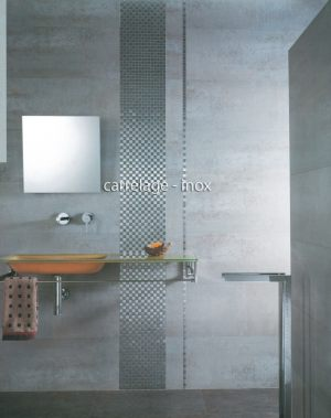 carrelage-inox-mosaique-faience-damier