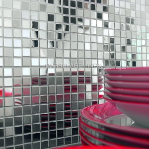mosaique inox miroir mix