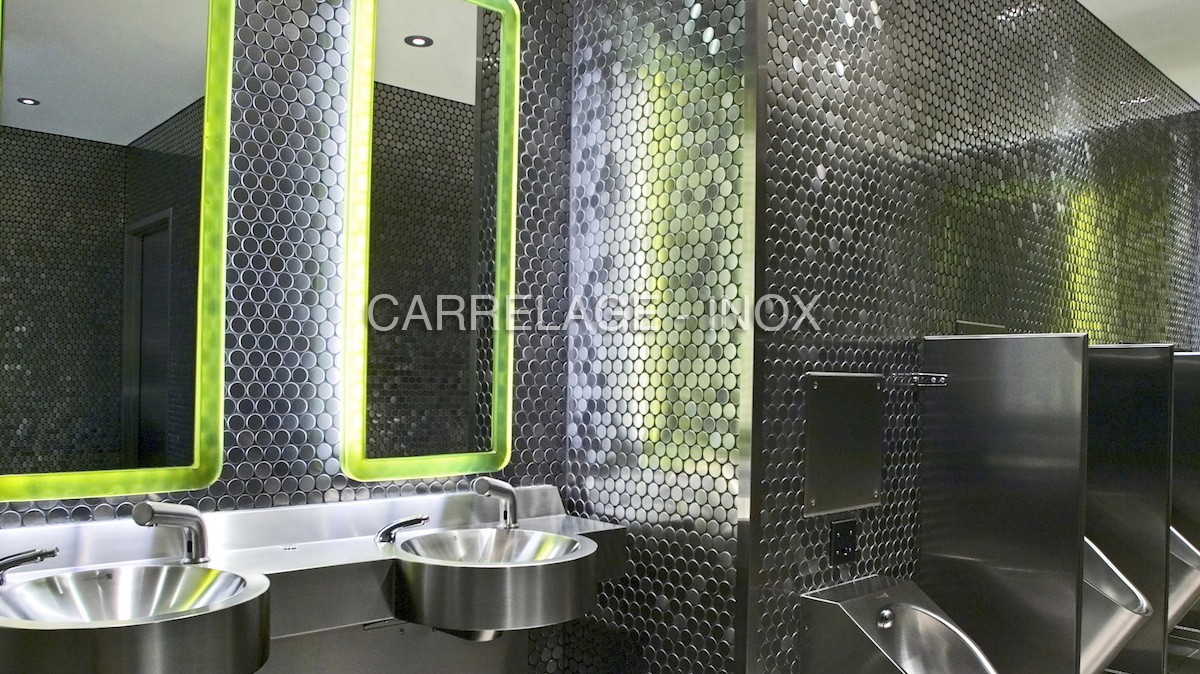 stainless steel mosaic for bathroom kitchen round
