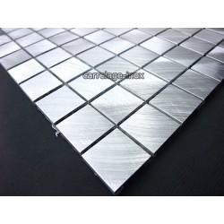 Mosaique aluminium, carrelage ALU 20