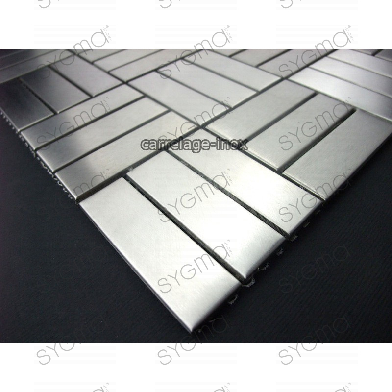 mosaique inox carrelage inox faience salle de bain duplica 64 carrelage. Black Bedroom Furniture Sets. Home Design Ideas