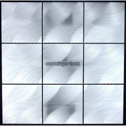 mosaic aluminum tile kitchen splashback alu reg 98