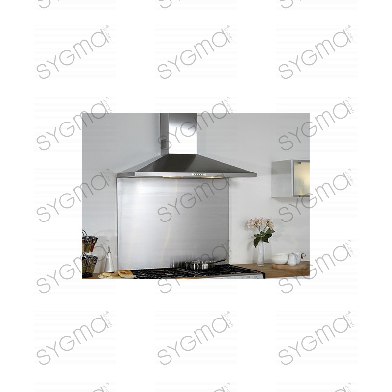 credence of kitchen stainless steel