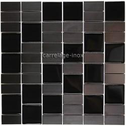 Mosaique-carrelage-inox-verre-noir-MODULO