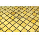 tiled floors stainless steel dore mosaic faience Fusion Or