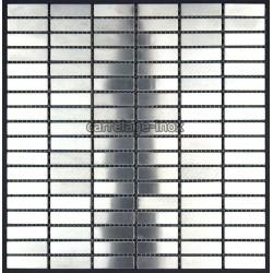 Mosaique et carrelage inox 1 m2 rectangular 48