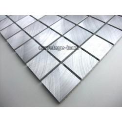 mosaique aluminium sol de douche salle de bain alu 25