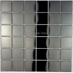 Mosaique-carrelage-inox-credence-faience-REGULAR-NOIR