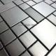 Mosaique inox carrelage 1 plaque faience credence LASKA