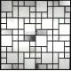 Mosaique inox carrelage faience credence LASKA