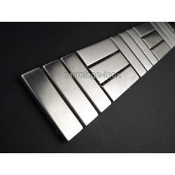 Listel inox frise acier metal mosaique carrelage bordure DUPLICA 48