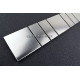 Listel inox frise acier metal mosaique carrelage bordure ARGOS