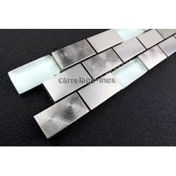 Frise listel bordure inox metal MULTI INOX BRIQUE