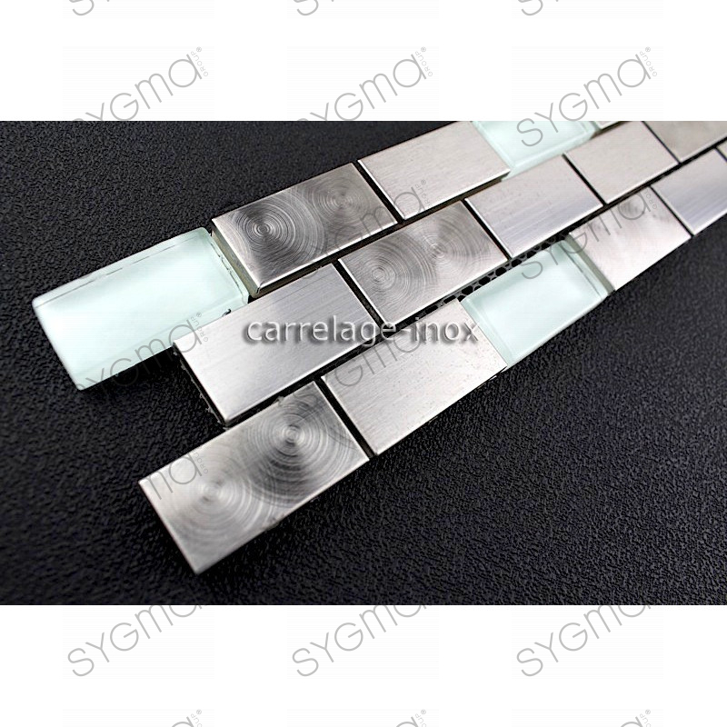 Frieze rim edge stainless steel metal multi stainless for Linea carrelage