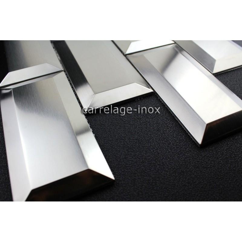 Tile Metro Stainless Steel Mosaic Backsplash Kitchen Metro