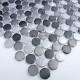 carrelage aluminium mosaique 1 plaque CIRCLE GRIS
