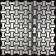 Mosaique inox carrelage faience credence LOFT