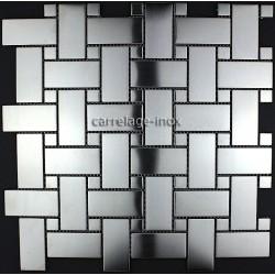 suelos de baldosas inoxidable muro de la cocina mosaico SONATE