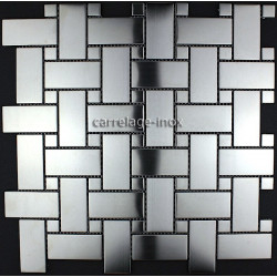 tiled floors stainless backsplash kitchen mosaic SONATE