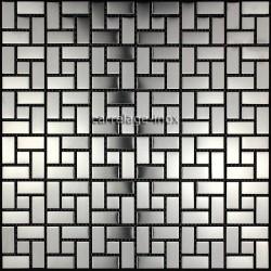 Mosaico de acero inoxidable de la cocina de azulejos de la ducha HISA