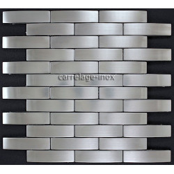 Mosaic stainless steel tile stainless steel faience kitchen FACTORY
