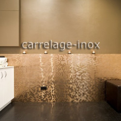 mosaique inox carrelage faience metal MIXTION